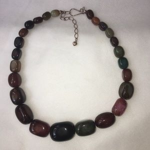 Graduated Mixed Stone Jay King DTR 925 Necklace